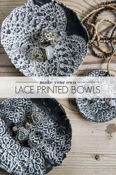 DIY Lace Bowls - AO Life