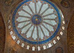interior, Blue Mosque,Istanbul -Turkey