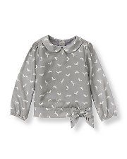 Girls Tops, Toddler Girls Sweaters, Designer Girls Shirts Sale at Janie and Jack
