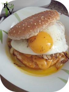 Vegetarian Welsh Burger