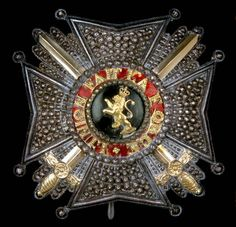 Order of Leopold (military), Grand Officer's breast star.