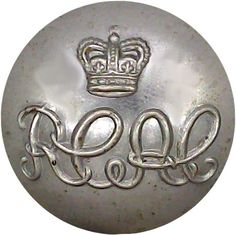 Royal Canadian Armoured Corps - Military uniform button for sale Queen Elizabeth Crown, Queen Crown, Buttons For Sale, Armed Forces, Museum, Canada, Military, Metal, Special Forces