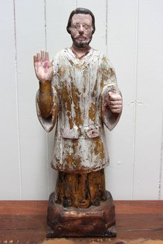 Antique Christian Statue - from the Aziza Designs online store