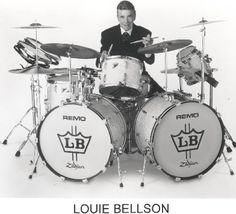 Louis Bellson- Double Bass... Why have one bass drum when you can have two?