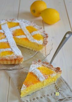 crostata ricotta e limone gp