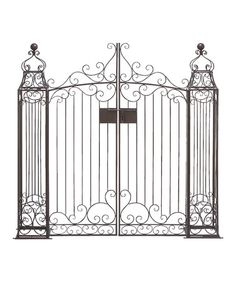 Technically, its a garden gate. But would love a gate like this instead of a baby gate for the stairs.