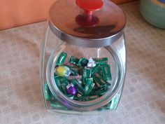 Large Apothecary General Store Tilted Jar Cookie by 2Crafty4You