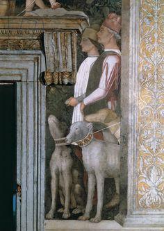 Andrea Mantegna, Decoration of the Camera degli Sposi (Camera Picta), 1465 - 1474 (fresco and dry tempera) Palazzo Ducale, Mantua
