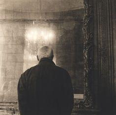 Ann Pallesen - Man at the Rodin Museum, Paris
