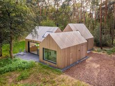 Clad Home, Timber Roof, Timber Cladding, Built In Bunks, Villa, Relaxing Holidays, Roof Structure, Sliding Glass Door, Cabana