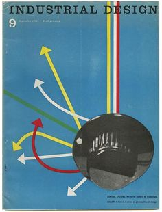 Ralph Caplan [Editor]: INDUSTRIAL DESIGN. New York: Whitney Publications, Inc., Volume 6, Number 9, September 1959.