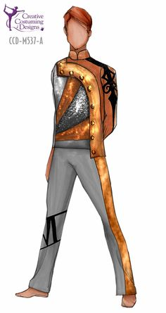 Creative Costuming & Designs would be great if the orange was dark red