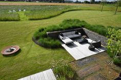 Country Landscaping, Modern Landscaping, Outdoor Landscaping, Zen Garden Design, Yard Design, Outdoor Rooms, Outdoor Gardens, Minimalist Garden, Garden Architecture