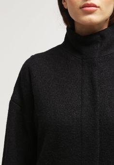 CHERRY - Classic coat - black - Zalando.co.uk 6b10901ba9f24