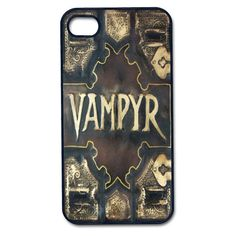Vampyr Vampire Supernatural Buffy iPhone 4/4s case, iPhone 5/5s/5c case, Galaxy S3/S4/S5 plastic snap on case IPod Touch 4/5 slayer