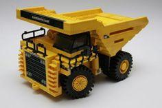 Caterpillar 789C Mining dump truck: A LEGO® creation by Richard Brown : MOCpages.com