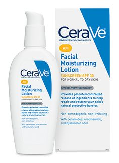 Facial Moisturizing Lotion AM - CeraVe is an ideal moisturizer for daily use, developed specifically for the face, which helps restore and maintain the skin's natural protective barrier while providing protection against the sun's damaging rays.