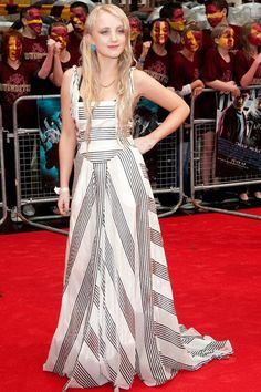 love her dress! and her of course Evanna Lynch