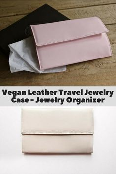 0269cdfaf3ef Travel Jewelry Organizer, Jewelry Organization, Vegan Wallet, Checked  Luggage, Jewelry Case,