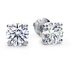 Tiffany & Co.   Category   Tiffany Diamonds   Solitaire Studs and Pendants