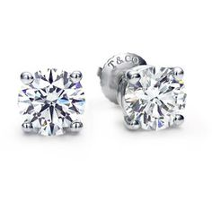 The Tiffany Diamond Studs - Every girl needs a pair Tiffany & Co. | Category | Tiffany Diamonds | Solitaire Studs and Pendants