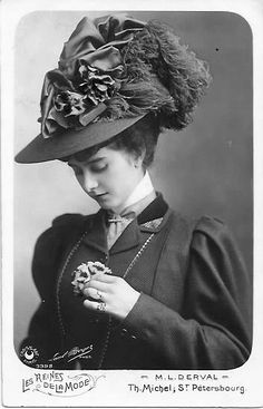 Russia. Elegant lady, 1908