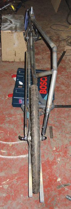 vélo couché artisanal