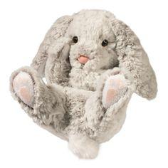 Stuffed Bunny Rabbits and Plush Bunny Rabbits at Stuffed Safari Stuffed Gray Bunny Handfuls Plush by Douglas Peluche Hello Kitty, Grey Bunny, Cute Stuffed Animals, Png Icons, Bunny Plush, Plush Animals, Cute Icons, Plush Dolls, Cute Stickers