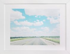 Eastbound Through West Texas by Kate Wong at minted.com