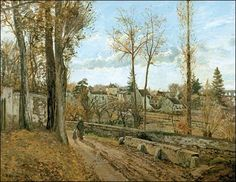 Pissarro - Louveciennes - 1871