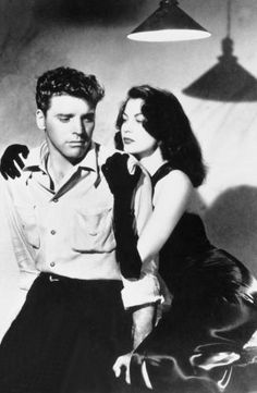 "Ava Gardner and Burt Lancaster - ""The Killers"" - 1946"