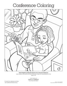 general conference 2014 coloring pages | General conference, Printables and 2 bits on Pinterest