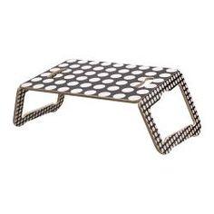 BRÄDA Laptophalter - schwarz/weiß - IKEA
