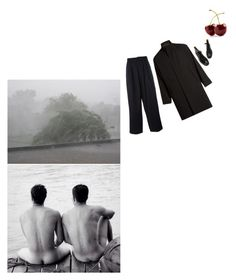 """Reading Mishima"" by lacerta ❤ liked on Polyvore featuring Yohji Yamamoto, men's fashion and menswear"