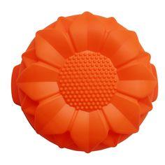 Girassol em forma de bolo Silicone moldes de cozimento único DIY molde Do Bolo Do silicone FDA qualidade CDSM 140 em   de   no AliExpress.com | Alibaba Group