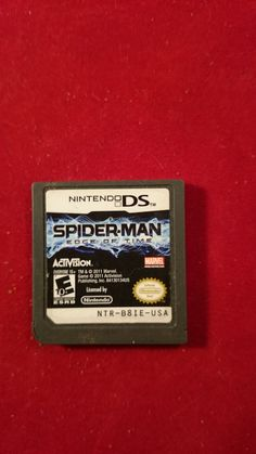Spider-Man: Edge of Time (Nintendo DS, 2011)