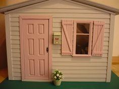 Dollhouse 1:6 for blythe pullip momoko barbie di WearingDreams