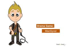 A fun improv activity for slightly older studentsbased on the popular US TV show MacGyver.