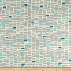 Art Gallery Canvas Sandbar Coastline from @fabricdotcom  Designed by Sharon Holland for Art Gallery, this sea-inspired collection will remind you of that salty sea breeze and the sand in between your toes. Relax with this nautical themed collection that will let you sail away into the ocean. This fabric features various sized rectangles. Colors include grey, sand, turquoise and teal. This canvas print is perfect for heavier skirts, jackets, handbags, and home decor accents.