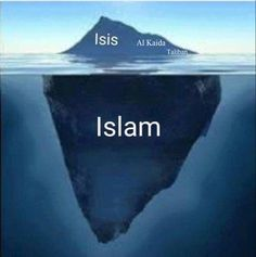 #Islamaufklärung Der Islamismus ist nur die Spitze des islamischen Eisberges.