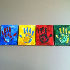 Father & son hands...great gift for Mom :)