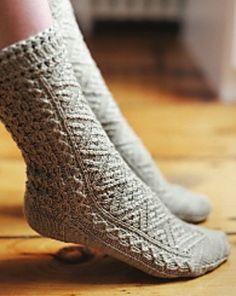 Kensington by Nancy Bush #socks #knit