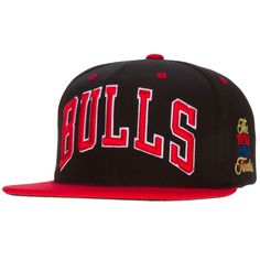 Chicago Bulls Black and Red