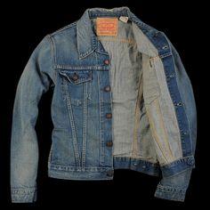 LEVI'S VINTAGE CLOTHING  1967 TYPE III TRUCKER JACKET IN DIZZY