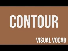 Contour defined - From Goodbye-Art Academy - YouTube