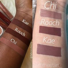 colourpop ultra matte lip dark skin @blackswanballet