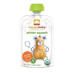 Happy Baby Pouches es una linea completa para bebes y niños que no requiere refrigeración y son convenientes para llevar a cualquier lugar. Es una excelente opción para comenzar a explorar los primeros alimentos del bebé. Su presentación es el tamaño adecuado para esos primeros alimentos y los sabores son con los que los bebes comienzan a explorar. Los Pouches de Happy Baby NO contienen GMOs (Organismos Genéticamente Modificados), Son orgánicos y naturales.  Son purés de un solo ingrediente…