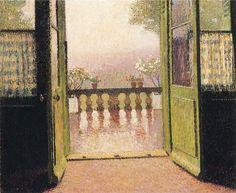 Henri Martin (1860-1943) - La Terrasse
