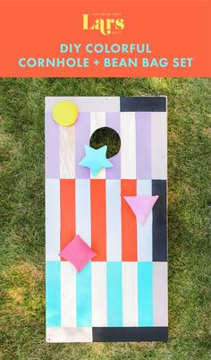 Summer Crafts For Kids, Summer Kids, Diy Craft Projects, Diy Crafts, Craft Ideas, Bean Bag Pattern, You Make Beautiful Things, Invisible Stitch, Corn Hole