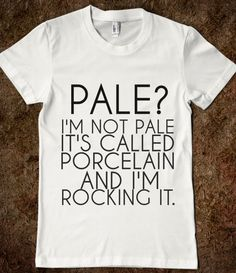 porcelain is the new tan